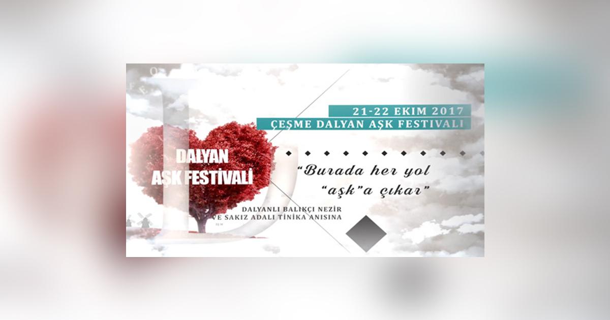 Çeşme Dalyan'da Aşk Festivaline İlham Veren Nezir'in Tinaka'ya Aşkı!