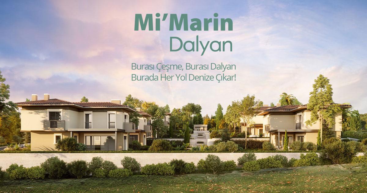 Ayrıcalıklı Yaşamın Çeşme'deki Adresi Mi'Marin Dalyan Konuklarını Bekliyor