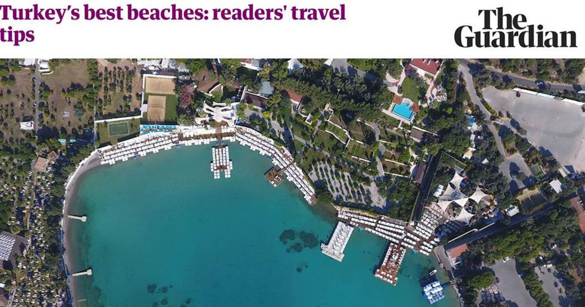 The Guardian, Türkiye'nin en iyi plajlarını paylaştı