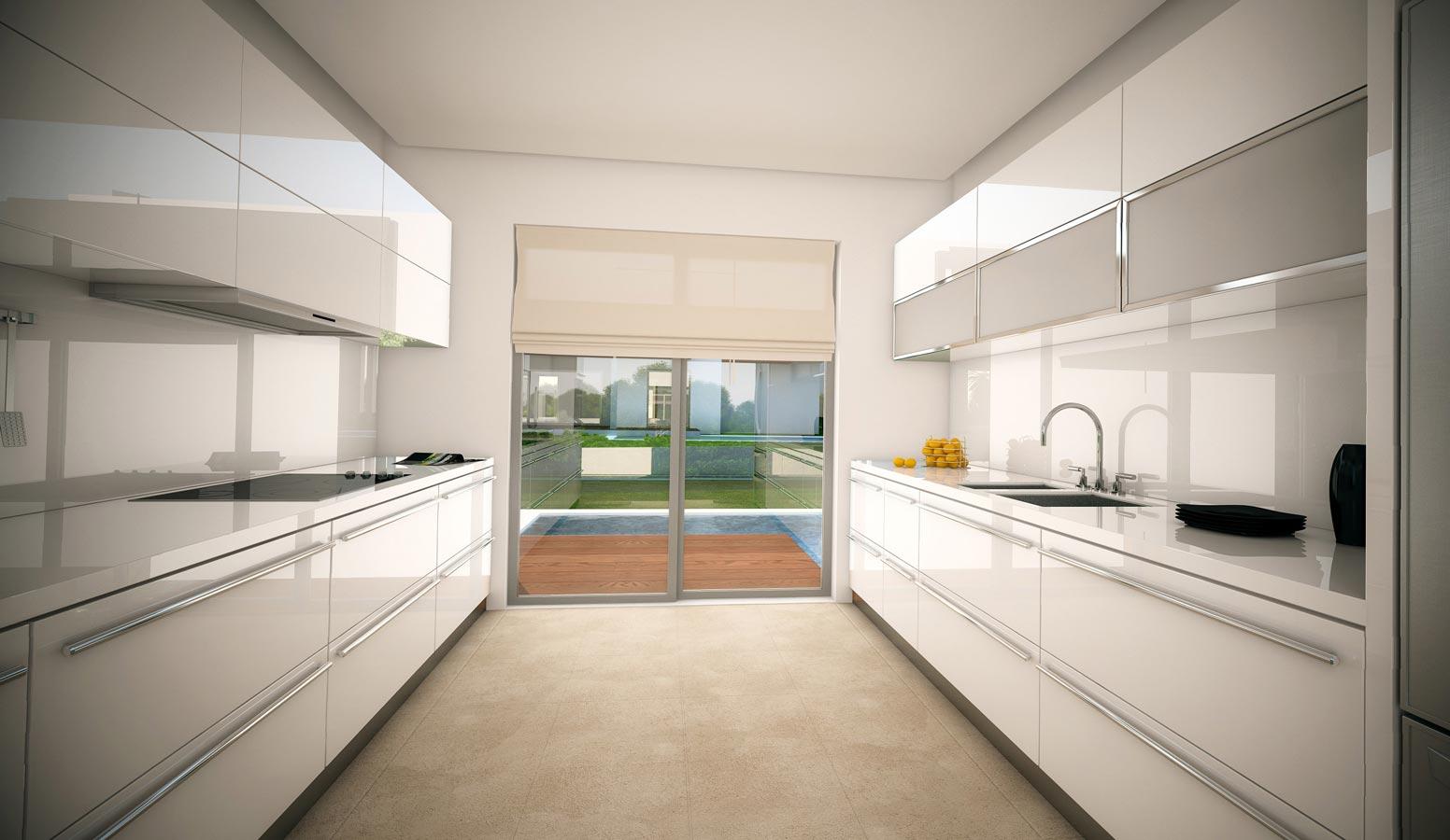 Mi'Marin Ilıca Villaları mutfak