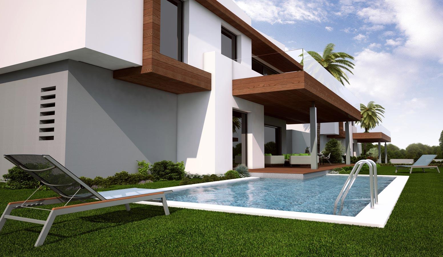 Mi'Marin Ilıca Villaları havuz